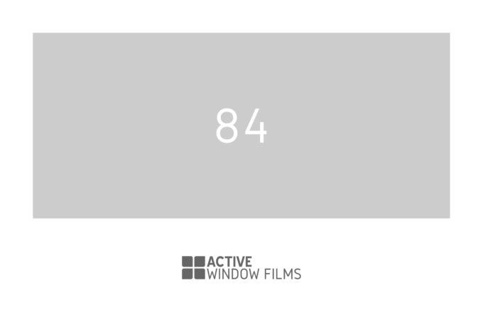 Front Door -Cut Out Window Film